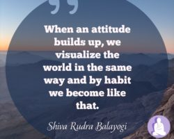 Cultivating a positive mental attitude